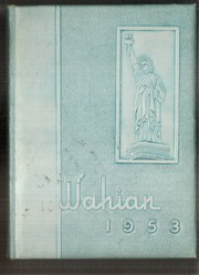 Waynesboro Area Senior High School - Wayarian Yearbook (Waynesboro, PA) online yearbook collection, 1953 Edition, Page 1