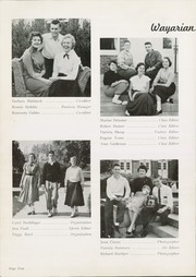 Page 8, 1955 Edition, Waynesboro Area Senior High School - Wayarian Yearbook (Waynesboro, PA) online yearbook collection