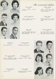 Page 16, 1956 Edition, West Allegheny High School - Alleghanian Yearbook (Imperial, PA) online yearbook collection