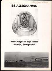 Page 5, 1966 Edition, West Allegheny High School - Alleghanian Yearbook (Imperial, PA) online yearbook collection