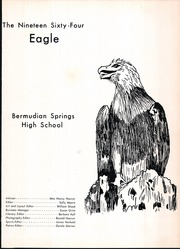 Page 5, 1964 Edition, Bermudian Springs High School - Eagle Yearbook (York Springs, PA) online yearbook collection