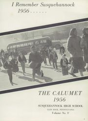 Page 5, 1956 Edition, Susquehannock High School - Calumet Yearbook (Glen Rock, PA) online yearbook collection