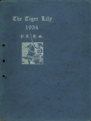 Page 1, 1934 Edition, Port Allegany Union High School - Tiger Lily Yearbook (Port Allegany, PA) online yearbook collection