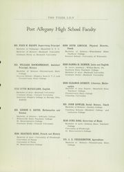 Page 9, 1934 Edition, Port Allegany Union High School - Tiger Lily Yearbook (Port Allegany, PA) online yearbook collection