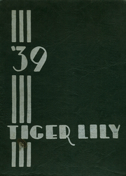 Page 1, 1939 Edition, Port Allegany Union High School - Tiger Lily Yearbook (Port Allegany, PA) online yearbook collection