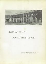 Page 11, 1939 Edition, Port Allegany Union High School - Tiger Lily Yearbook (Port Allegany, PA) online yearbook collection