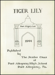 Page 5, 1944 Edition, Port Allegany Union High School - Tiger Lily Yearbook (Port Allegany, PA) online yearbook collection