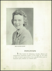 Page 8, 1944 Edition, Port Allegany Union High School - Tiger Lily Yearbook (Port Allegany, PA) online yearbook collection