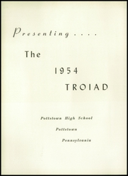 Page 6, 1954 Edition, Pottstown High School - Troiad Yearbook (Pottstown, PA) online yearbook collection