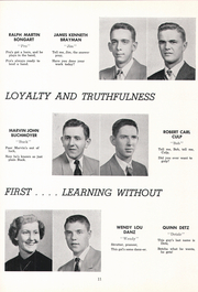 Page 15, 1954 Edition, Columbia High School - Susquehannock Yearbook (Columbia, PA) online yearbook collection