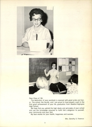 Page 9, 1966 Edition, Steelton Highspire High School - Steel High Yearbook (Steelton, PA) online yearbook collection