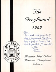Page 5, 1969 Edition, Monessen High School - Greyhound Yearbook (Monessen, PA) online yearbook collection