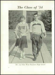 Page 14, 1954 Edition, West Hazleton High School - Arcana Yearbook (West Hazleton, PA) online yearbook collection