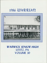 Page 5, 1986 Edition, Warwick High School - Warrian Yearbook (Lititz, PA) online yearbook collection