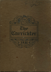 Page 1, 1931 Edition, Carrick High School - Carrickter Yearbook (Pittsburgh, PA) online yearbook collection
