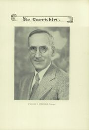 Page 9, 1931 Edition, Carrick High School - Carrickter Yearbook (Pittsburgh, PA) online yearbook collection