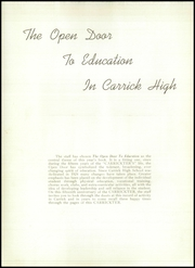 Page 8, 1940 Edition, Carrick High School - Carrickter Yearbook (Pittsburgh, PA) online yearbook collection