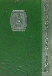 1941 Edition, Carrick High School - Carrickter Yearbook (Pittsburgh, PA)