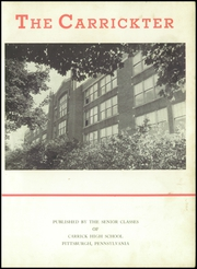Page 7, 1947 Edition, Carrick High School - Carrickter Yearbook (Pittsburgh, PA) online yearbook collection