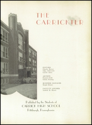 Page 5, 1949 Edition, Carrick High School - Carrickter Yearbook (Pittsburgh, PA) online yearbook collection
