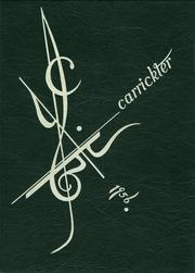 1956 Edition, Carrick High School - Carrickter Yearbook (Pittsburgh, PA)