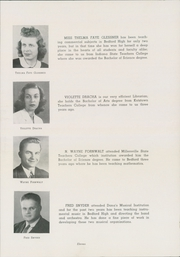 Page 15, 1945 Edition, Bedford High School - Echo Yearbook (Bedford, PA) online yearbook collection
