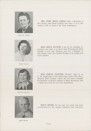 Page 16, 1945 Edition, Bedford High School - Echo Yearbook (Bedford, PA) online yearbook collection
