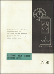 Page 5, 1958 Edition, Freeport Area High School - Freeportian Yearbook (Freeport, PA) online yearbook collection
