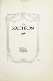 Page 11, 1916 Edition, Birmingham Southern College - Southern Accent Yearbook (Birmingham, AL) online yearbook collection
