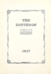 Page 7, 1917 Edition, Birmingham Southern College - Southern Accent Yearbook (Birmingham, AL) online yearbook collection