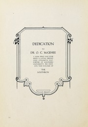 Page 8, 1917 Edition, Birmingham Southern College - Southern Accent Yearbook (Birmingham, AL) online yearbook collection