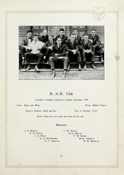 Page 87, 1917 Edition, Birmingham Southern College - Southern Accent Yearbook (Birmingham, AL) online yearbook collection