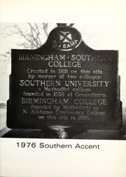 Page 5, 1976 Edition, Birmingham Southern College - Southern Accent Yearbook (Birmingham, AL) online yearbook collection
