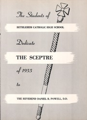 Page 5, 1955 Edition, Bethlehem Catholic High School - Sceptre Yearbook (Bethlehem, PA) online yearbook collection