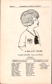 Page 12, 1922 Edition, Curwensville Area High School - Echo Yearbook (Curwensville, PA) online yearbook collection