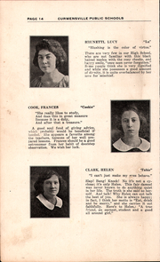 Page 16, 1922 Edition, Curwensville Area High School - Echo Yearbook (Curwensville, PA) online yearbook collection