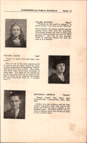 Page 17, 1922 Edition, Curwensville Area High School - Echo Yearbook (Curwensville, PA) online yearbook collection