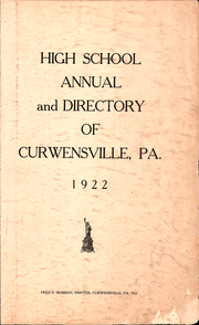 Page 3, 1922 Edition, Curwensville Area High School - Echo Yearbook (Curwensville, PA) online yearbook collection