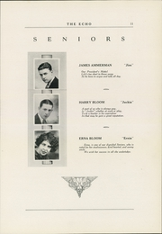 Page 15, 1927 Edition, Curwensville Area High School - Echo Yearbook (Curwensville, PA) online yearbook collection