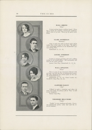 Page 12, 1931 Edition, Curwensville Area High School - Echo Yearbook (Curwensville, PA) online yearbook collection