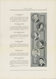 Page 17, 1931 Edition, Curwensville Area High School - Echo Yearbook (Curwensville, PA) online yearbook collection