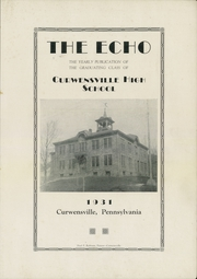 Page 3, 1931 Edition, Curwensville Area High School - Echo Yearbook (Curwensville, PA) online yearbook collection