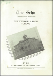 Page 5, 1940 Edition, Curwensville Area High School - Echo Yearbook (Curwensville, PA) online yearbook collection