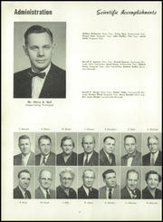 Page 12, 1958 Edition, Curwensville Area High School - Echo Yearbook (Curwensville, PA) online yearbook collection