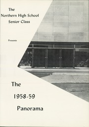 Page 5, 1959 Edition, Northern High School - Panorama Yearbook (Dillsburg, PA) online yearbook collection