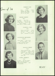 Page 17, 1954 Edition, Middletown Area High School - Reflections Yearbook (Middletown, PA) online yearbook collection
