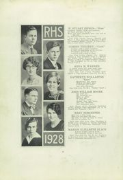 Page 14, 1928 Edition, Ridgway High School - Elker Yearbook (Ridgway, PA) online yearbook collection