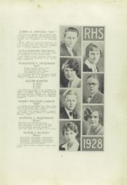 Page 15, 1928 Edition, Ridgway High School - Elker Yearbook (Ridgway, PA) online yearbook collection