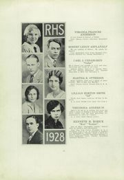 Page 16, 1928 Edition, Ridgway High School - Elker Yearbook (Ridgway, PA) online yearbook collection