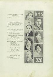 Page 17, 1928 Edition, Ridgway High School - Elker Yearbook (Ridgway, PA) online yearbook collection